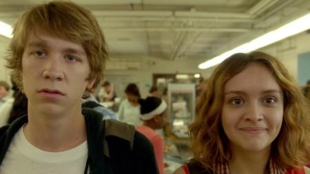Yo, él y Raquel.